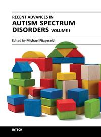 RECENT ADVANCES IN AUTISM SPECTRUM DISORDERS - VOLUME I - Popular Autism Related Book